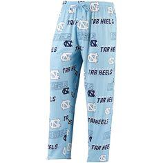 North Carolina Tar Heels Concepts Sport Slide All Over Print Pant – Carolina Blue