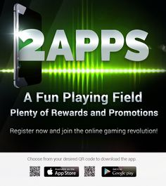 Rewards and promotions? Check. Fun and exciting games? Check. Want to experience the thrill? Download #2apps now! #gaming #mobile #android #appdevelopment