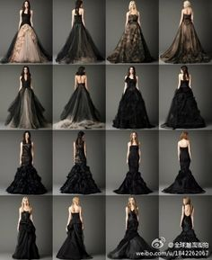 Vera Wang 2012 Fall : Black Series