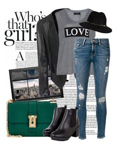 """30.08.2015"" by fashion-sense-xo ❤ liked on Polyvore featuring Carmakoma, Frame Denim, Valentino and Anine Bing"