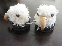 Eagles marshmallow & coconut... cute idea