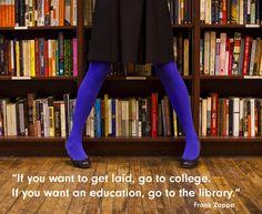 Frank Zappa o knihovnách