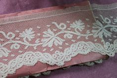 square mesh Valenciennes Bobbin Lace, Vintage Lace, Outdoor Blanket, Mesh, Quilts, Antiques, Babies, Antiquities, Bobbin Lacemaking