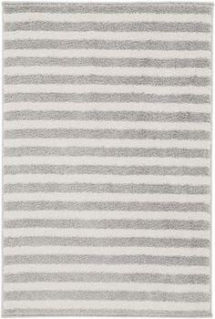 Horizon Ivory Charcoal Polypropylene Area Rug (L 36 X W 24)