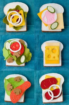 DIY-- for when my niece is a little older. I always loved to play with pretend food toys as a child