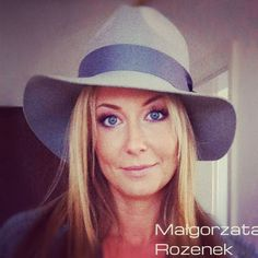 Małgorzata Rozenek wearing HatHat