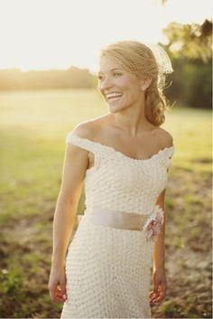 Vestidos de noiva em croche
