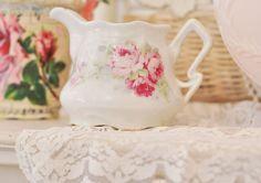 Shabby teapot