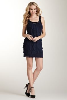 Pleated Layer Dress $32.