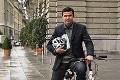 PRO VELO SCHWEIZ - bike to work: Matthias Aebischer machts vor