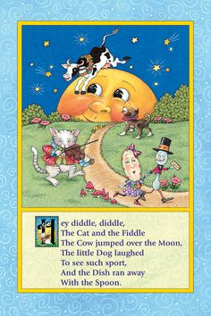 "mother goose nursery rhymes | ... Mother Goose Nursery Rhymes Bulletin Board, 12"" x 18"" 