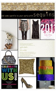 add some sparkle to your party with Sequins