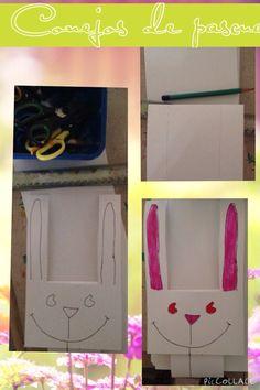 Conejos de papel # kids #craft #easter