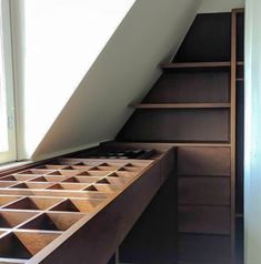 Custommade walk-in closet. Walking Closet, Custom Made, Stairs, Home Decor, Bakken, Stairway, Decoration Home, Staircases, Room Decor