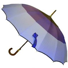 3-Tone Golf Umbrella in Purple @ www.let-it-rain.com