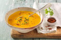 Exotik zum Löffeln: Kürbissuppe mit Nashi-Birnen und Chili. #experiencefresh