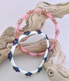 Looking for your next project? You're going to love Quick Start Cube Bead Bangle by designer Sweet Beads. - via @Craftsy