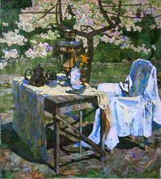 Denis Sarazhin. In the spring