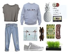 """Sin título #618"" by trendy-outfits ❤ liked on Polyvore featuring Levi's, Converse, Missoni and Joseph Joseph"