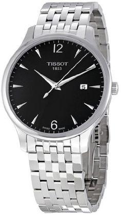 Tissot Men's T0636101106700  Quartz Tradition Silver Tone Anthracite Dial Watch  #Anthracite #dial #Men's #quartz #Silver #T0636101106700 #Tissot #Tone #Tradition #Watch MonitorWatches.com