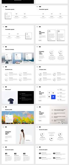 Mini is a multipurpose keynote and powerpoint presentation. When creating this presentation, I focused on ease of use fo Powerpoint Design Templates, Ppt Design, Slide Design, Keynote Template, Book Design, Layout Design, Branding Design, Presentation Layout, Business Presentation
