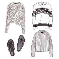 Good objects - Current Isabel Marant obsession @isabelmarant #isabelmarant #goodobjects Watercolor illustration