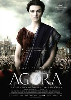 One of its foremost citizens is hypatia played by rachel weisz. Hypatia rachel weisz was born into the family business. Top Movies, Great Movies, Movies To Watch, Movies And Tv Shows, Movies Free, Popular Movies, Rachel Weisz, Internet Movies, Movies Online