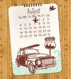 Go Handmade: Letterpress Calendars for 2013