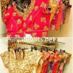 flower designed http://punjabisuits.net/saree-blouse-designs/