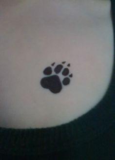 Paw Print Tattoos | Bear Paw Print Tattoo