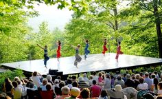 Jacob's Pillow (The hub and mecca of dance)- where  many of the major influential choreographers in history have left their stamp. I attended the Jacob's Pillow summer program in 2001 and was overwhelmed by the magic of this place.