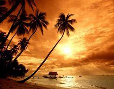 Costa Rica beaches sunset