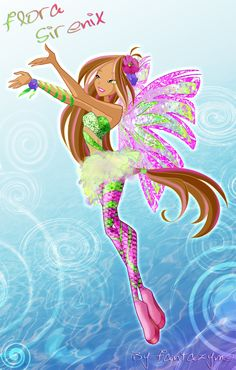 winx club flora sirenix  And I was thinking of drawing this picture!