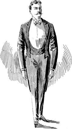 Un homme du monde en 1895