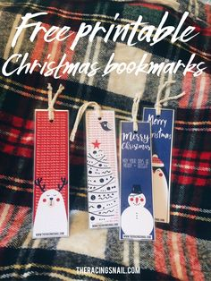 Print off these cute free printable Christmas bookmarks and enjoy a fun Christmas craft time with the kids making something they will love to use and gift!