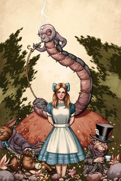 Alice in Wonderland by John Cassaday