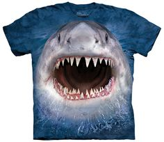 713a164189407 The Mountain Wicked Nasty Shark Week Animal Forest Nature Pet T Tee Shirt