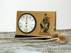Vintage thermometersoviet thermometerdesk by BackToUSSR on Etsy, $25.00