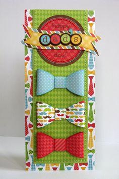 Doodlebug Day-To-Day Father's Day Card by Mendi Yoshikawa - Scrapbook.com