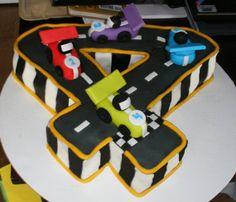 Cuatro Número de la torta Hipódromo