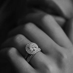 Mens Womens 1.00CT Sapphire Wedding Band Engagement Bridal Ring 3Pcs Trio Set #RegaaliaJewels #DoubleHaloEngagementRingSet