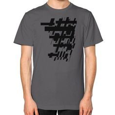 Crossroads Unisex T-Shirt (on man)