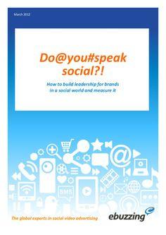 Do you speak social?