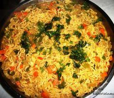 Vegetable Maggi Noodles   Indian Favorite Khaana
