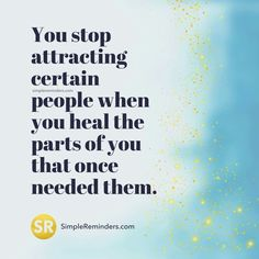What you attract