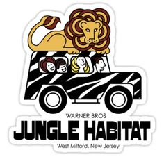 Jungle Habitat - where the animals roamed free (more or less) and visitors were confined (to their cars as they drove through.) This was in West Milford and some people confused it with New Milford a town in Bergen County. Jersey Girl, New Jersey, Safari Jeep, West Milford, Fair Lawn, Moving To Florida, Bergen County, Back In The Day, Vintage Advertisements