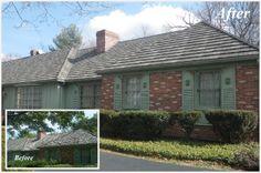 Residence, Before & After - DECRA Shake XD - Pinnacle Grey - [www.decra.com]