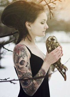 #owl #lady #girl #bird #beautiful #nature #love #obsessed #winter #snow #tree #calm #animal #mind #tattoo #life #hands #hand #sexy  #forever