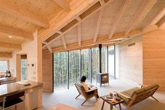 Japanese Architecture, Modern Cabins   InBetween House: blending nature and architecture   Busyboo
