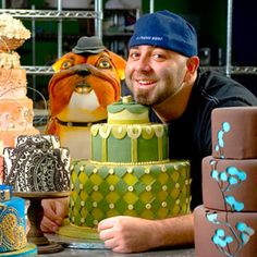 Duff Goldman - Great guy. Made cakes fun again. Tremendous bass player. One of the best ever!